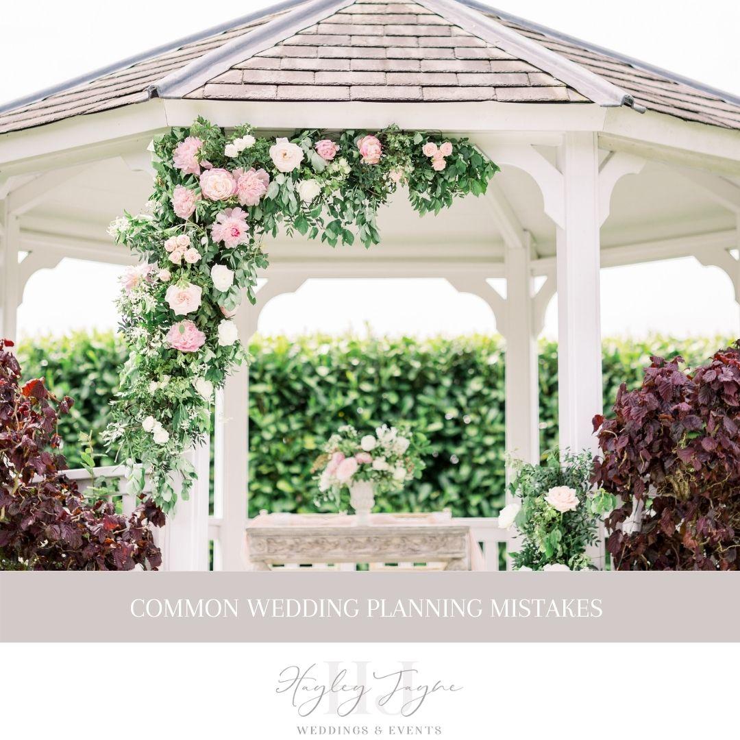 Wedding Planning Mistakes | Essex Wedding planner