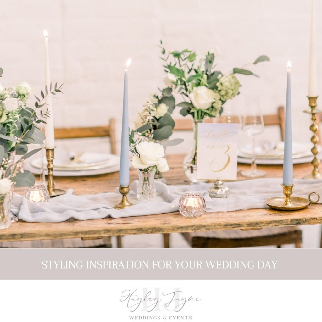 Styling your wedding day | Essex Wedding planner