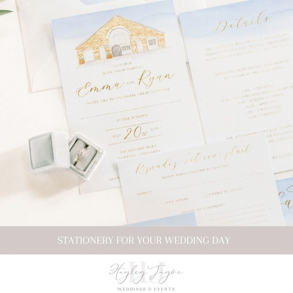 Stationery for your wedding day | Essex Wedding Planner
