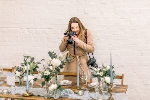 Photographer on wedding day | Essex Wedding Planner