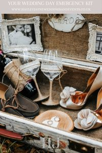 Emergency Kit For Your Wedding Day | Essex Wedding Planner