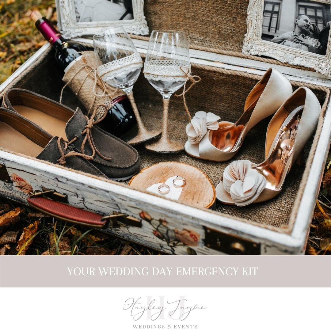 Wedding Day Emergency Kit | Essex Wedding Planner