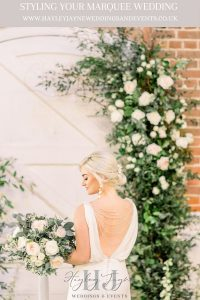 Styling Your Marquee | Essex Wedding Planner