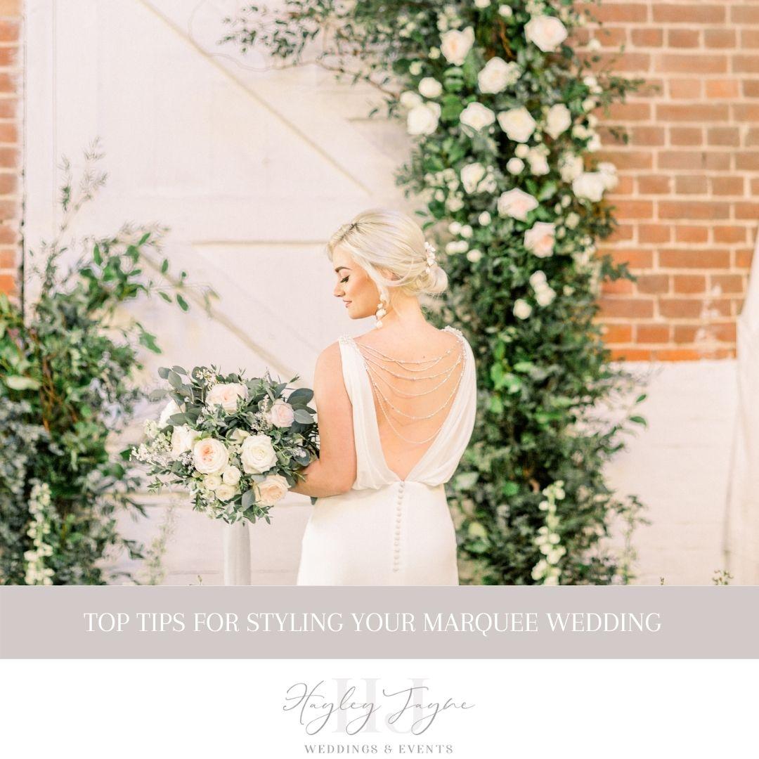 Styling A Marquee Wedding | Essex Wedding Planner