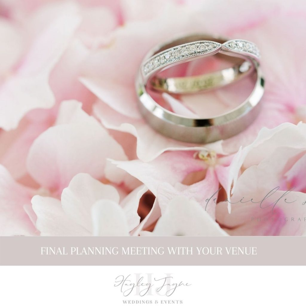 Final Planning Meeting | Essex Wedding Venue